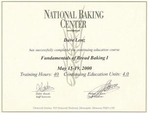 Bread Baking 1