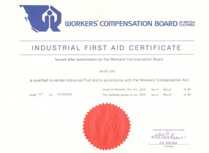 Industrial First Aid