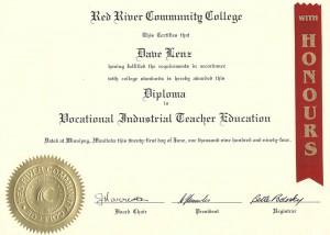 Vocational Industrial Teacher Education